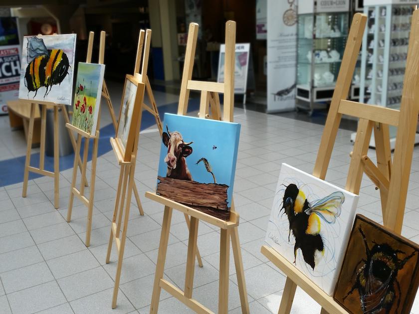 Gemäldeausstellung Christel Keller