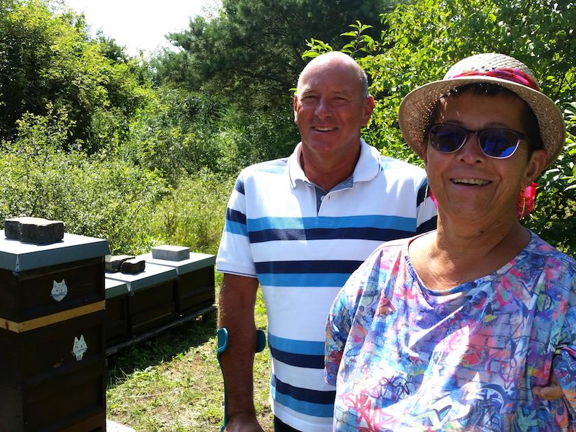 Bienenpaten Hans und Anne Zirkel