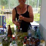 Frauke Gabriel sorgt fürs Wohlergehen