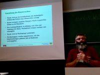 Vortrag Johann Fischer zu Wachs