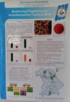 Plakat am Stand des Tiergesundheitsdienstes / Bienengesundheitsdienst