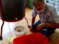Ertrag des Rapshonigs von Michael, zu Gast bei Bienen-leben-in-Bamberg.de