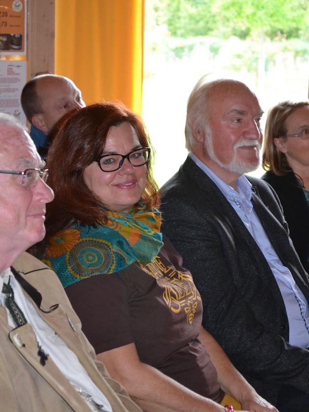 Gäste, Jurymitglieder und Preisträgerin