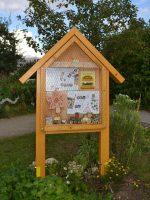 Wildbienenhotel im Bamberger Bienengarten