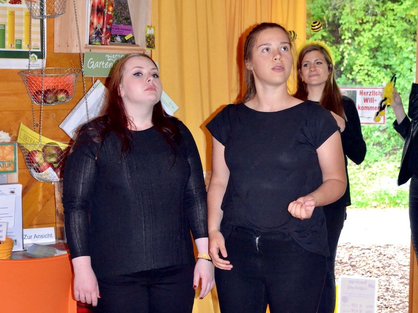 Gastauftritt Pantastico, Coburger Kinder- und Jugendtheater.