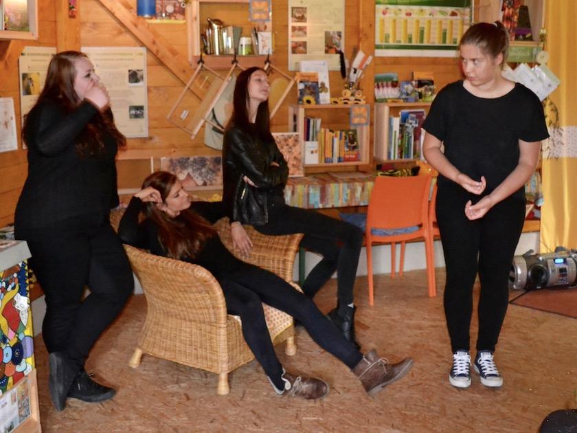 Gastauftritt Pantastico, Coburger Kinder- und Jugendtheater.
