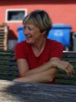 Trotz bevorstehendem Zwiebeltreterfest total entspannt – Sabine Gründler