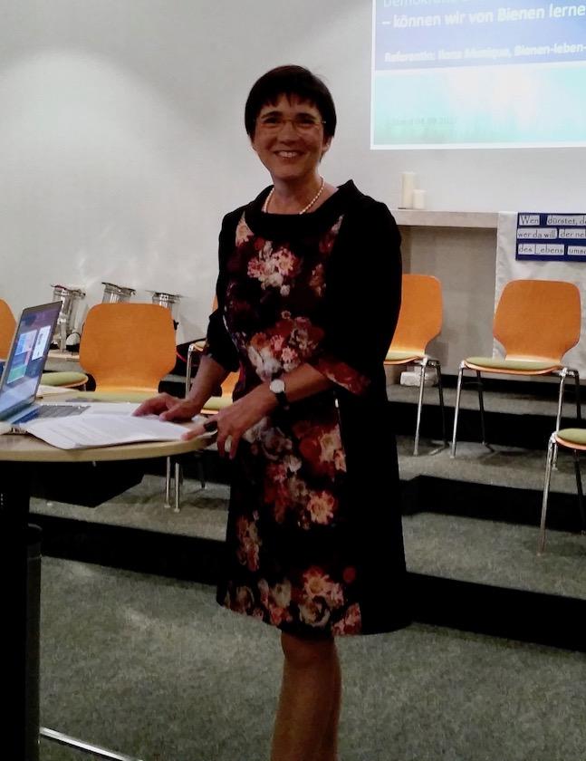Vortrag Ilona Munique