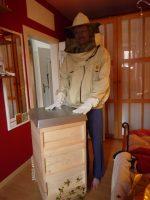Erstausstattung, gekauft von der 1. Bienenpatin, Elisabeth Burger