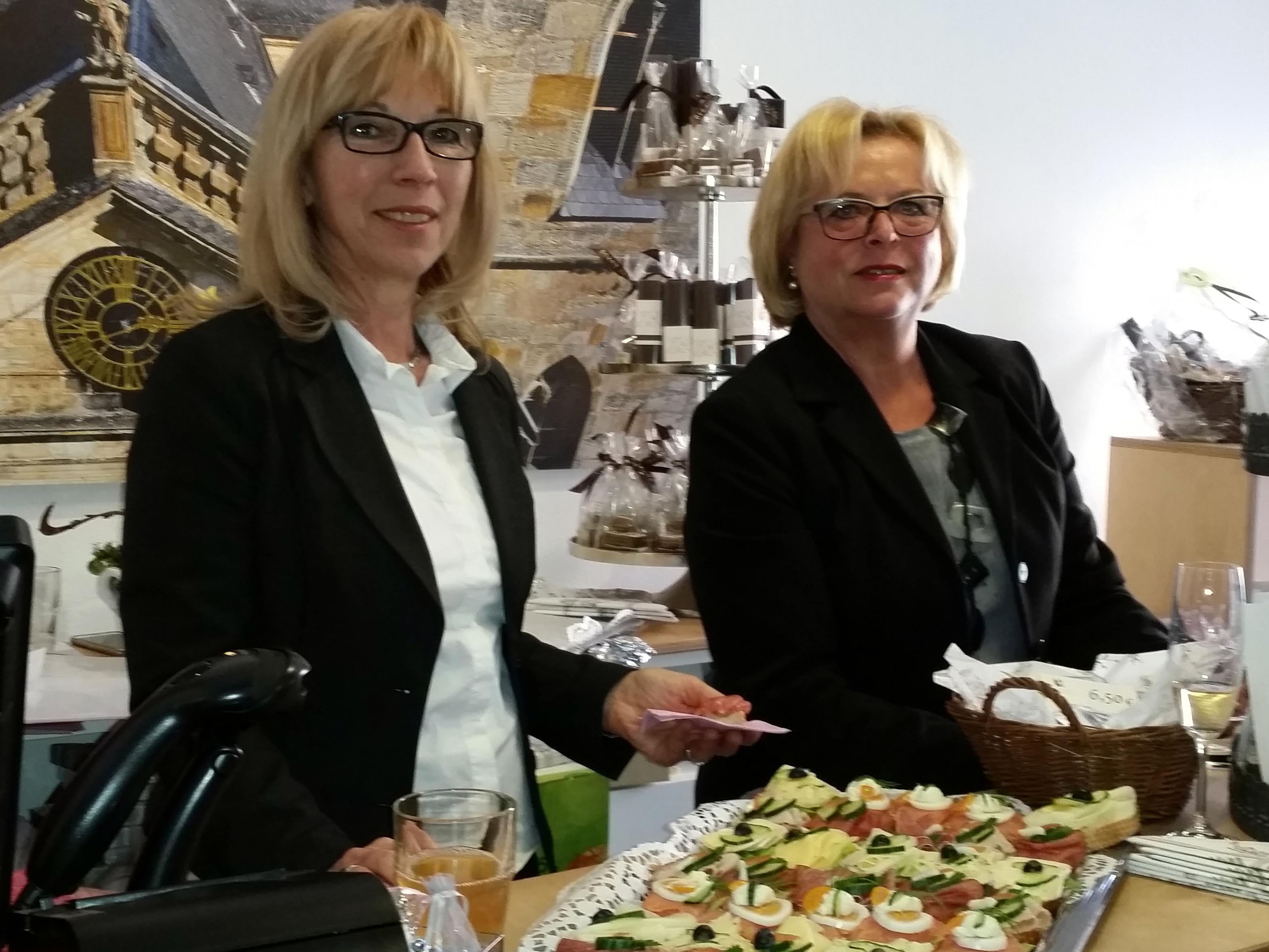 Silvia Kiederer und Elisabeth Bopp