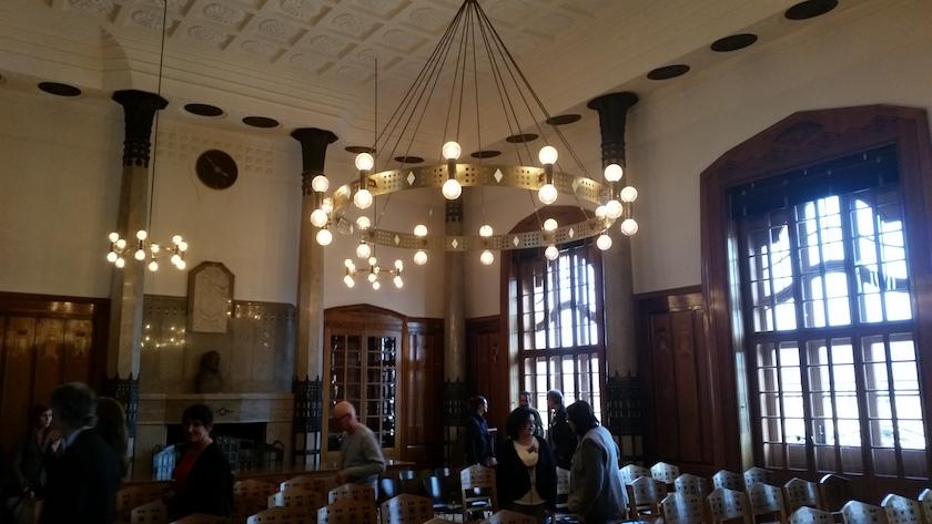 Landratssaal im Präsidialbau der Regierung von Oberfranken