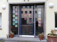 Montessori-Schule Bamberg, Eingang
