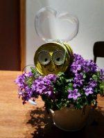 Dosen-Biene von der Montessori-Schule