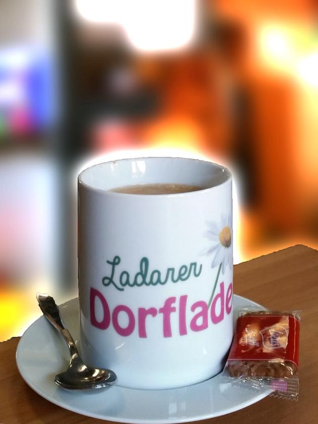 Kaffeepause im Ladarer Dorfladen Unterleinleiter