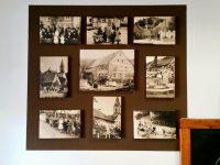 Historische Aufnahmen des Dorfes im Ladarer Dorfladen Unterleinleiter