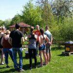 "Seminargruppe ""Schul-Imkerei"" am Lehrbienenstand ""Bienenweg"""