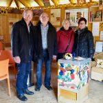 Gäste zum Saisonstart 2018 der Bamberger Bienen-InfoWabe