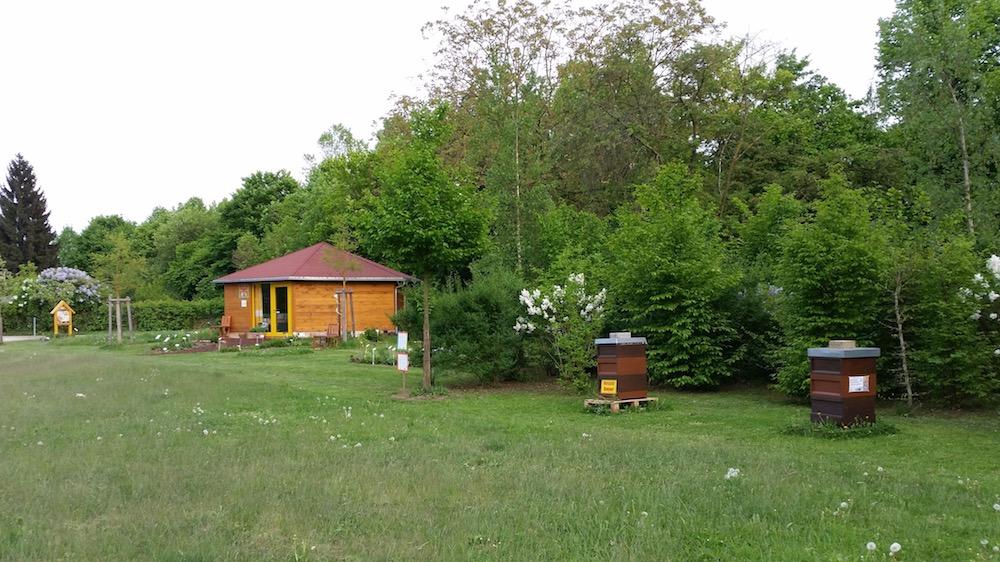 Bienen-InfoWabe mit Bienengarten und Lehrbienenstand