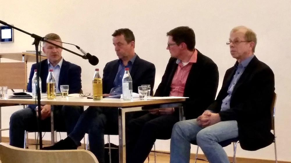 """Podiumsrunde zur """"Stadtökologie"""""""