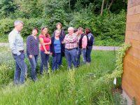 Besuch des Stammtischs der Deutschen Rosenfreunde Oberfranken e. V. im Bamberger Bienengarten