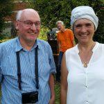 Prof. Dr. Ulrich Heber und Ilona Munique.