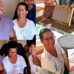 Bienenpatin Anne Zirkel, Spenderin der Honigschleuder und des Entdeckelungsgeschirrs