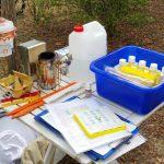 Utensilien zur Modul 10.1 Wabenhygiene, Varroabehandlung