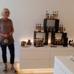 Karin Linz, die gute Seele vom Stiftsladen am Michaelsberg