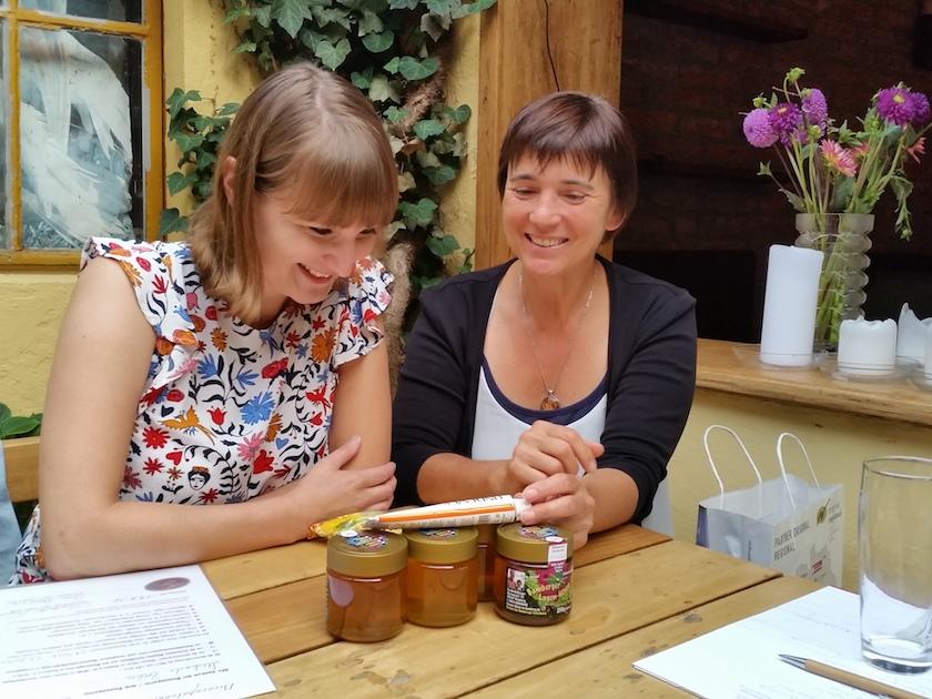 Bienenpateninterview mit Michaela Brehm