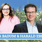 Plakat Lisa Badum und Harald Ebner