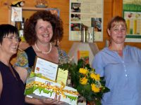 Dr. Elke Puchtler, 1. Preis Bienenstadt-Bamberg-Umweltpreis 2018