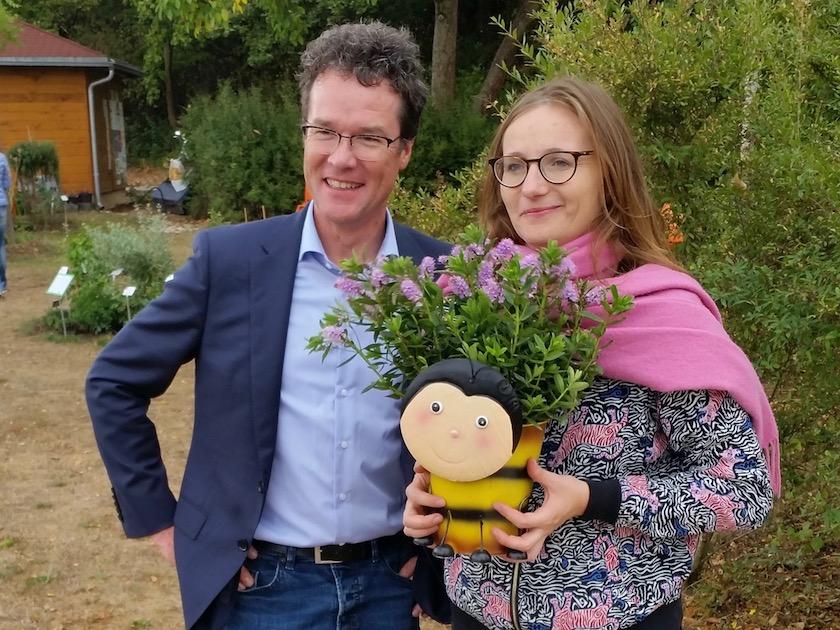 Besuch Harald Ebner und Lisa Badum