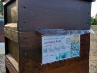 Foliennutzung beim Einfüttern der Bienenvölker