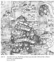 Ausschnitt aus der sog. Puellenhover-Karte von 1568 (St.A.a. Pl 3192; entnommen aus: https://www.zotero.org/ilonamunique/items/collectionKey/5KQPMWGC/itemKey/BANKR95P/q/relikte