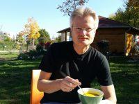 Kürbissuppengenuss zu den Herbstarbeiten an der Bienen-InfoWabe