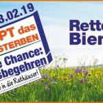 Rettet die Bienen – Stoppt das Artensterben, Logo zum bayerischen Volksbegehren 2019
