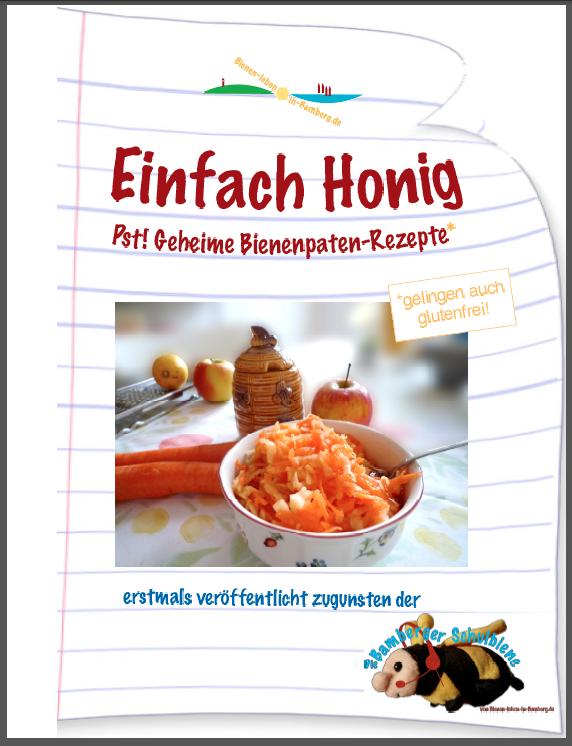 """Rezeptbuch """"Einfach Honig"""" von Bienen-leben-in-Bamberg.de"""