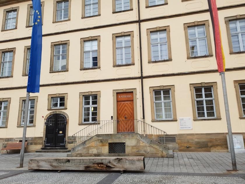 Rathaus am Maximiliansplatz Bamberg