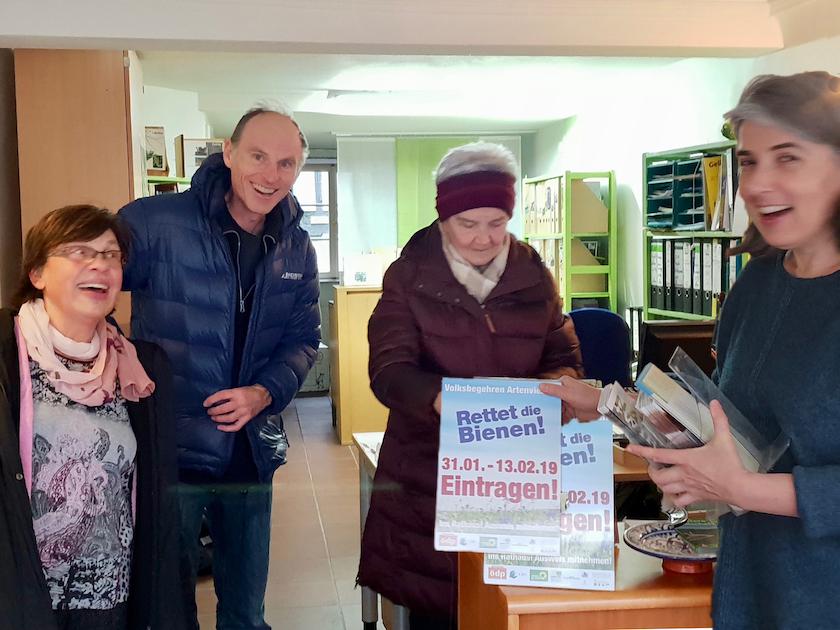 GeschäftsstelleAktive in der Geschäftsstelle des BUND, Kreisgruppe Bamberg