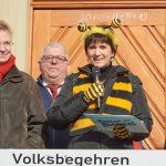 Anmoderation zur Auftaktveranstaltung, Ilona Munique (Sprecherin des Aktionskreises in Bamberg)