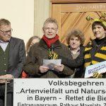 Martin Bücker, Statementgeber (Intro 1) zur Auftaktveranstaltung des Volksbegehrens