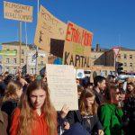 """Abmarsch am Bahnhof Bamberg, Demonstration """"Nicht mit uns!"""" Bamberg am 16.02.2019"""