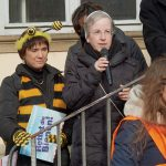 Sr. Martina Schmidt, Statementgeberin zur Auftaktveranstaltung des Volksbegehrens