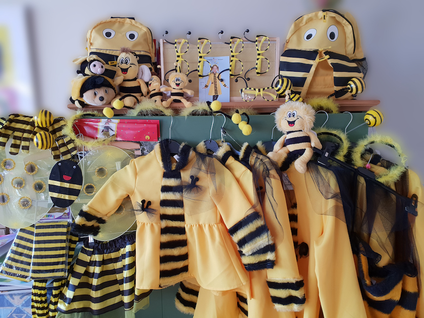 Faschingskostüm Biene