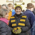 Aktionskreissprecherin Ilona Munique im Gespräch mit Dr. Karin Dengler-Schreiber