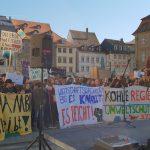 """1500 Demonstranten auf dem Maximiliansplatz, Demonstration """"Nicht mit uns!"""" Bamberg am 16.02.2019"""