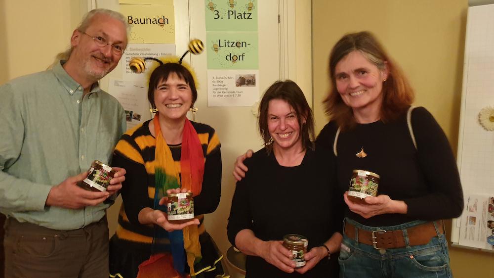 3. Platz im Ranking der Landkreisgemeinden Bambergs zum Volksbegehren: LITZENDORF