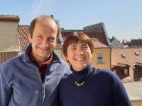 Bienenpate Alfred Pöhlmann mit Ilona