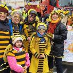 """""""Söders runder Tisch, oder: Die Bienen sind ls!"""" Faschingsumzug mit Bienen-leben-in-Bamberg.de"""