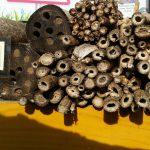 Falsche und richtige Bestandteile eines Wildbienenhotels